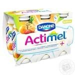 Продукт кисломолочный Danone Actimel мультифрукт 6шт 100г