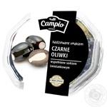 Оливки Campio чорні з сиром 250г