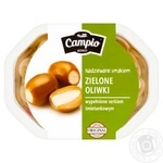 Campio Olives green with cheese 250g