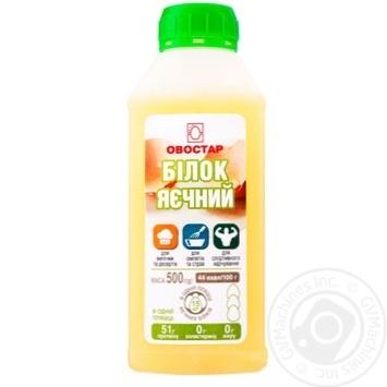 Ovostar Egg white liquid 500g - buy, prices for Novus - image 1