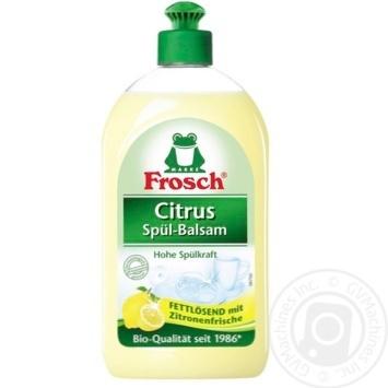 Бальзам Frosch Лимон для мытья посуды 500мл - купить, цены на Novus - фото 2