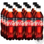 Coca-Cola Zero Strongly Carbonated Drink 0,5l