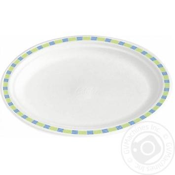 Тарелка Chinet бумажная 22см