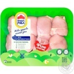 Nasha Ryaba chilled chicken thigh fillet (packaging ~1,1kg)