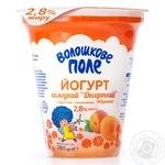 Йогурт Волошкове поле Десертный сладкий Абрикос 2,8% 280г