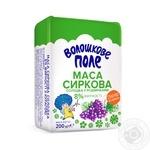 Творожная масса Волошкове поле сладкая с изюмом нетермизированная 8% 200г Украина