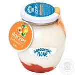 Йогурт Волошкове поле Десертный абрикос 2.8% 350г