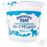 Voloshkove Pole Greek Creamy Yogurt - buy, prices for Novus - image 1