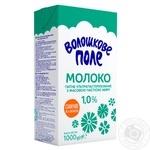Молоко Волошкове поле ультрапастеризованное 1% 1кг