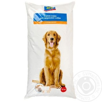 Aro Dry With Beef For Dogs Food - buy, prices for Metro - image 1