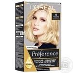 L'Oreal Paris Preference 9 Hollywood Very Light Blond Hair Dye