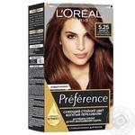 Краска для волос L'Oreal Paris Recital Preference 5.25 Антигуа каштановый перламутровый