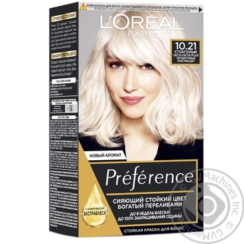 L'oreal Recital Preference №10.21 Hair Dye - buy, prices for Novus - image 1