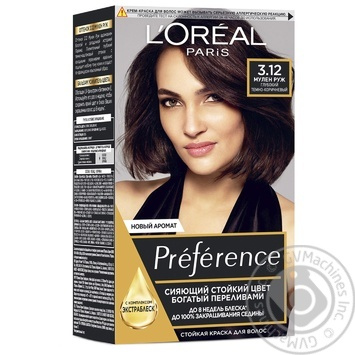 L'oreal Preference 3.12 Hair Dye - buy, prices for Novus - image 1