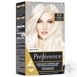 L'Oreal Paris Recital Preference 11.11 Hair dye ultra blonde cold ashy
