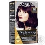 L'Oreal Recital Preference 3.26 Dark Purple Hair Color - buy, prices for Novus - image 1