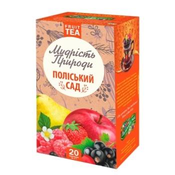 Чай Поліський чай Полесский сад фруктово-ягодный в пакетиках 2г*20шт - купить, цены на Novus - фото 1