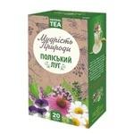 Чай Поліський чай Полесский луг травяной в пакетиках 1,5г*20шт