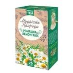 Чай травяной Поліський чай Ромашка-Лемонграсс в пакетиках 20шт*1,5г