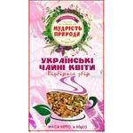 Чай травяной Мудрость Природы Украинские чайные цветы 50г