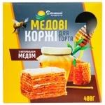 Коржі для торта Домашні продукти Медові 400г