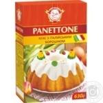 Кекс Сто пудов Panettone с итальянской мукой 630г