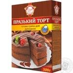 Суміш для випікання Сто Пудов Празький торт 500г