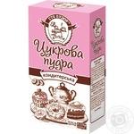 Powdered sugar Sto pudov for desserts 150g Ukraine