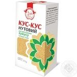 Groats Sto pudov with chickpeas for cooking 270g Ukraine