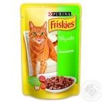 Корм Friskies С кроликом в подливке для взрослых котов 100г