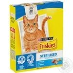 Friskies With Salmon Dry For Sterilised Cats Food