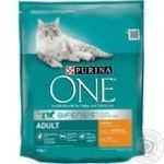 Purina One Adult With Rice And Chicken Dry For Cats Food
