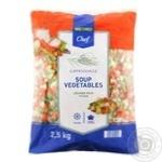Замороженная смесь Metro Chef овощной суп 2,5кг