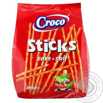 Соломка Croco солона 250г - купити, ціни на Метро - фото 1