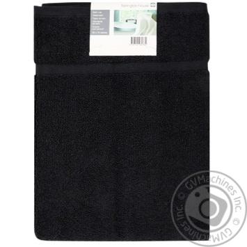 Коврик для ванной Tarrington House черный 50X70см - купить, цены на Метро - фото 1