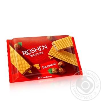 Вафли Roshen Wafers орех 72г