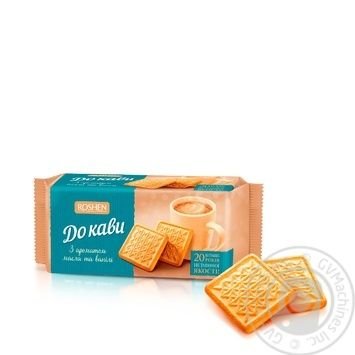 Печиво Рошен до кави 185г - купити, ціни на Novus - фото 1