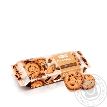 Roshen Esmeralda With Chocolate Drops Biscuits - buy, prices for Novus - image 1