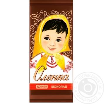 Шоколад молочный Roshen Аленка 90г - купить, цены на Novus - фото 1