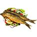 Приготовленная рыба