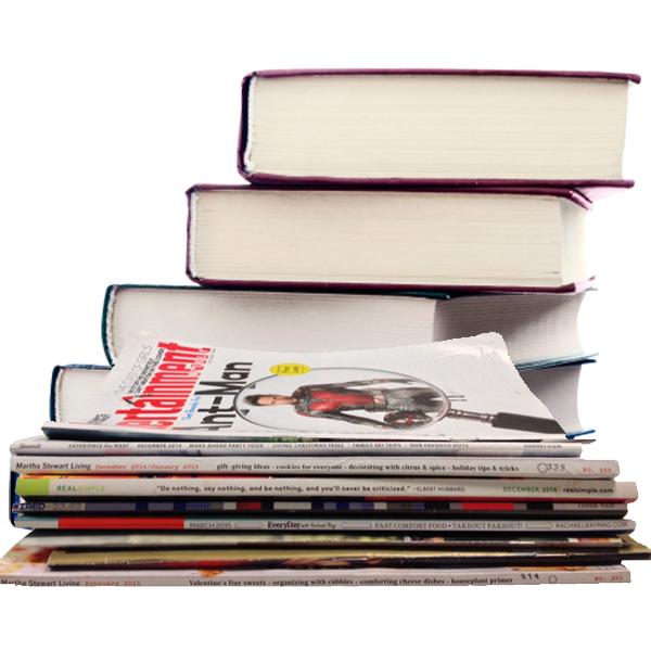 Журнали і книги