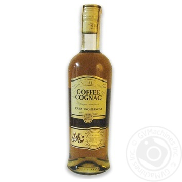 Vdala Coffee with Cognac Vermouth 20% 0.5l - buy, prices for MegaMarket - photo 1