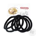 Защіпка Titania для волосся 6шт Art.7812