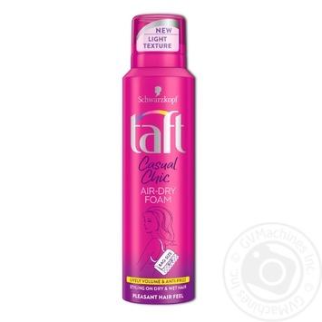 Пена-мусс Taft Casual Chic для укладки волос 150мл