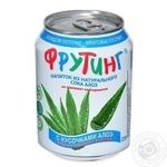 Non-alcoholic non-carbonated juice-containing drink of aloe juice Fruiting can 238ml