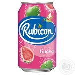 Rubicon with guava carbonated beverage 330ml