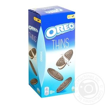 Печенье Oreo тонкое с какао со вкусом ванили 192г