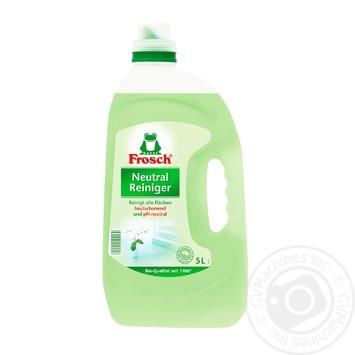 Средство Frosch нейтральное очистительное 5л