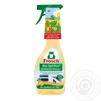 Средство Frosch для гладких поверхностей апельсин 500мл - купить, цены на Novus - фото 1