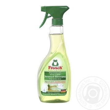Засіб для чищення ванн Frosch Зелений виноград 500мл
